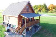 Cobtree Otisco Log Home