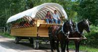PA Grand Canyon Covered Wagon Ride